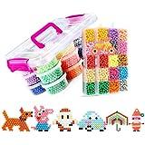 8400 UNIDS 30 Colores Fusible de Agua Craft Sticky Kit Set para Niños Niños DIY Crafting Juguetes Educativos DIY christmas gift