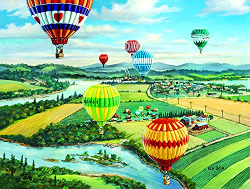 Ballooner's Rally 300 Piece Jigsaw Puzzle by SunsOut