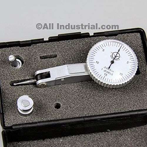 Surface Smoothness Dial Test Indicator - Bi-Directional Lever Arm - 0.03''-0.0005''