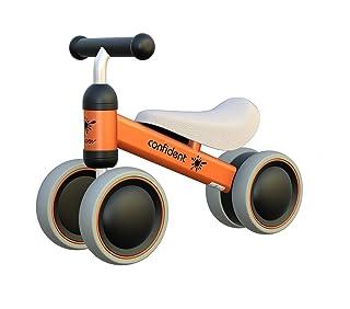 JUN GUANG Equilibrio del Bambino Biciclette Swing Auto Senza Pedale Bambino a Quattro Ruote Walker