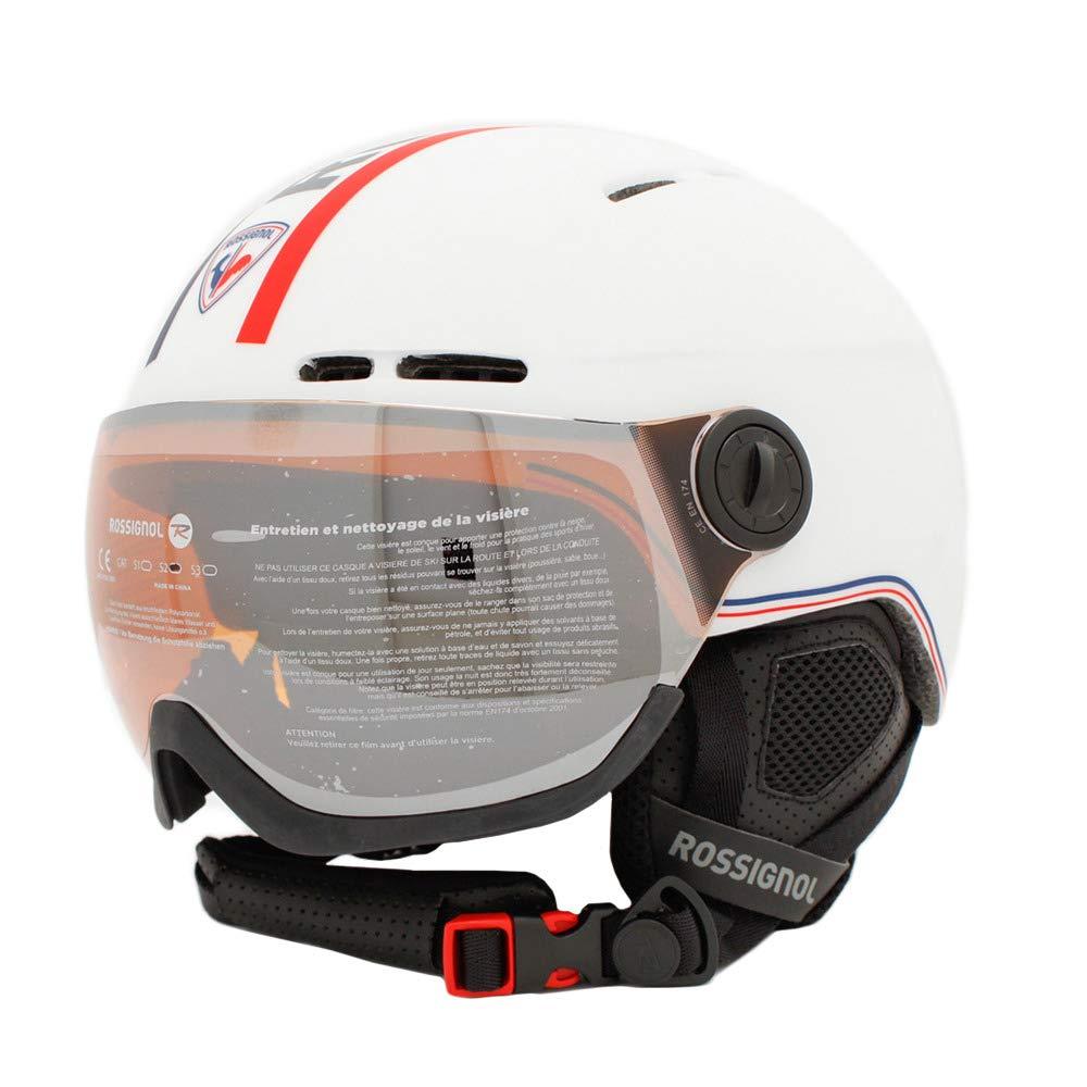 Casque /à Visi/ère Rossignol Visor Single Lens White