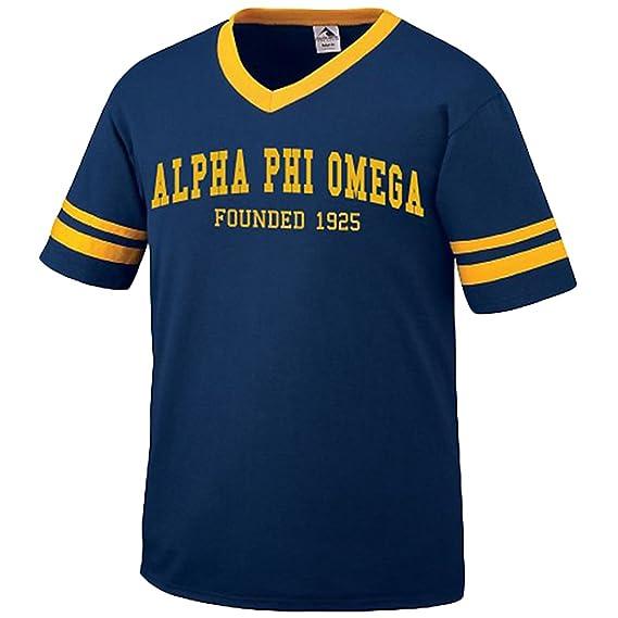 Amazon Alpha Phi Omega Founders Jersey Clothing
