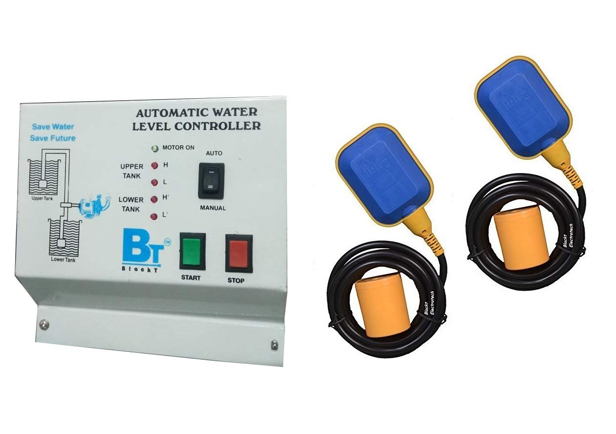 Blackt Electrotech Fully Auto Water Level Controller Sensor Switch Wiring Diagram Electronics