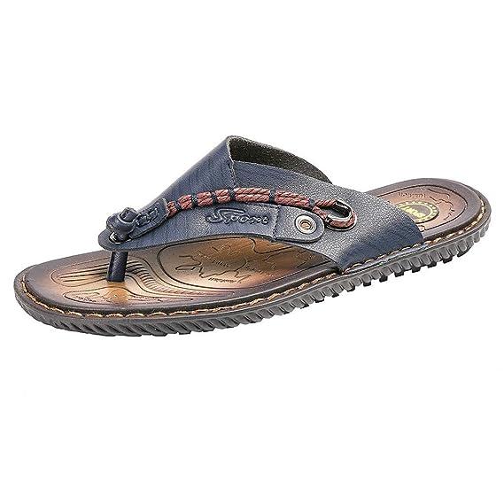 Darringls_Zapatos de hombre,Sandalias Hombre Chanclas Cuero Hombre Chanclas para Hombre Sandalias Hombre Sandalias Hombres Verano: Amazon.es: Ropa y ...