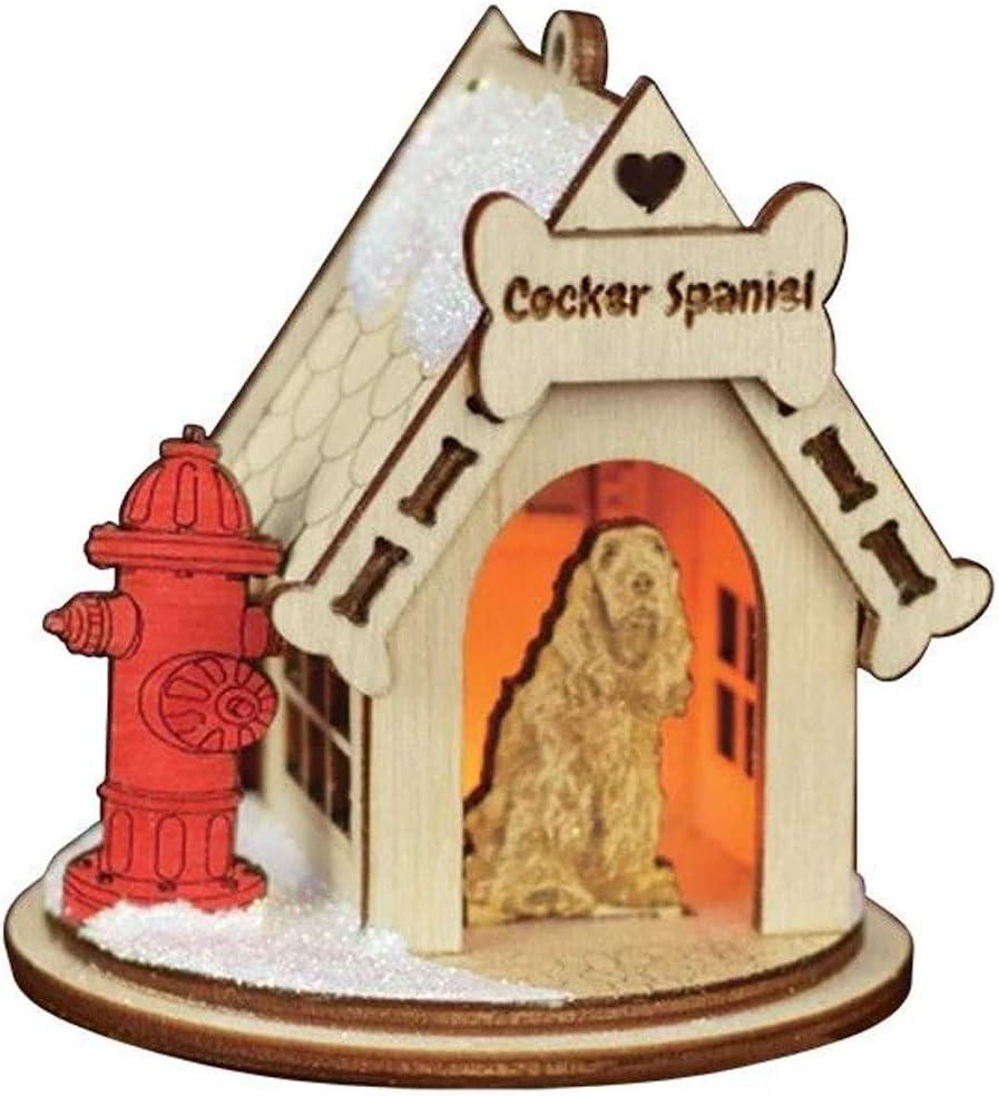 Ginger Cottages K-9 Doghouse Cocker Spaniel K9112