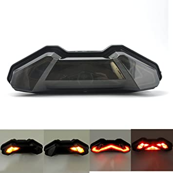 61PDK0RE1jL._SY355_ amazon com fz09 integrated tail light led turn signal blinker for FZ-09 Front Flush Mount at gsmx.co