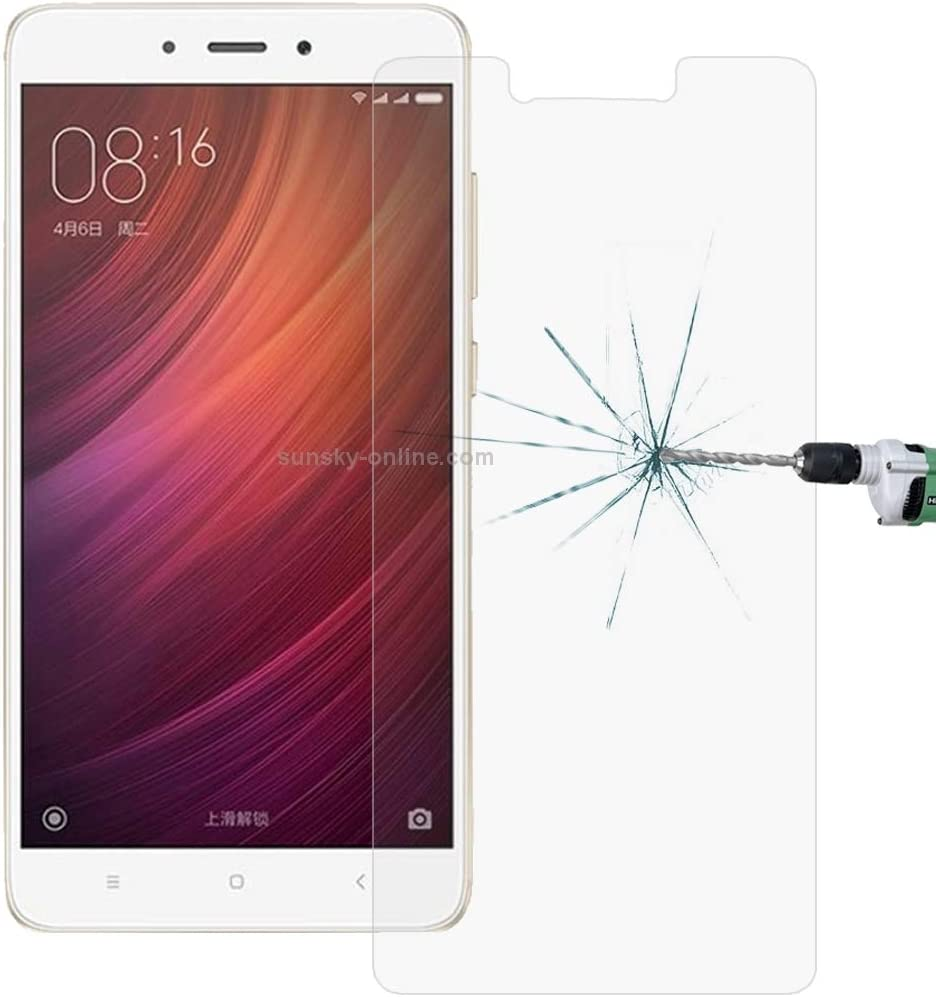 YINZHI Screen Protector Film 100 PCS for Xiaomi Redmi Note 4X 0.26mm 9H Surface Hardness Explosion-Proof Tempered Glass Screen Film Clear