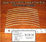 best seller today Guitar/Banjo Fret Wire - Jescar GOLD...