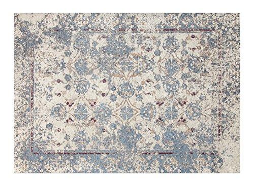Chesapeake Merchandising 12530 Nebula Pattern Chenille Area Rug with Carpet Back, 5′ x 7′, Multicolor