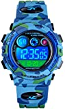 Tonnier Watch Kids Sports Watch Multi Function Digital Watches Colorful LED Display Waterproof Wristwatches for Children…