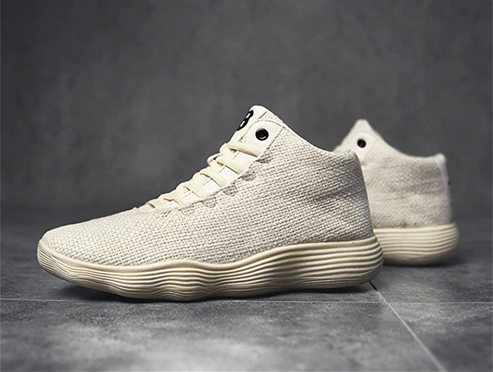 Believed Mens Knit Breathable Casual Sneakers Lightweight Athletic Tennis Walking Running Shoes