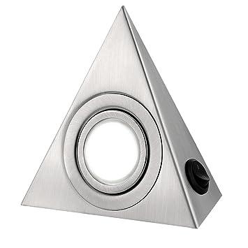 Everso Unterbauleuchten Küche unter Schrank Dreieck Triangle LED ...