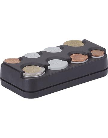 HR-imotion 10310301 - Caja para Las Diferentes Monedas de Euro, con Mecanismo de