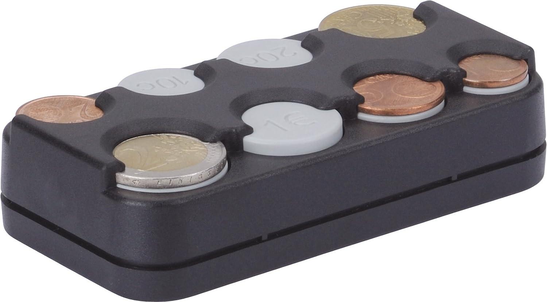 HR-imotion 10310301 - Caja para Las Diferentes Monedas de Euro, con Mecanismo de Muelle, Fabricada en Alemania, autoadhesiva