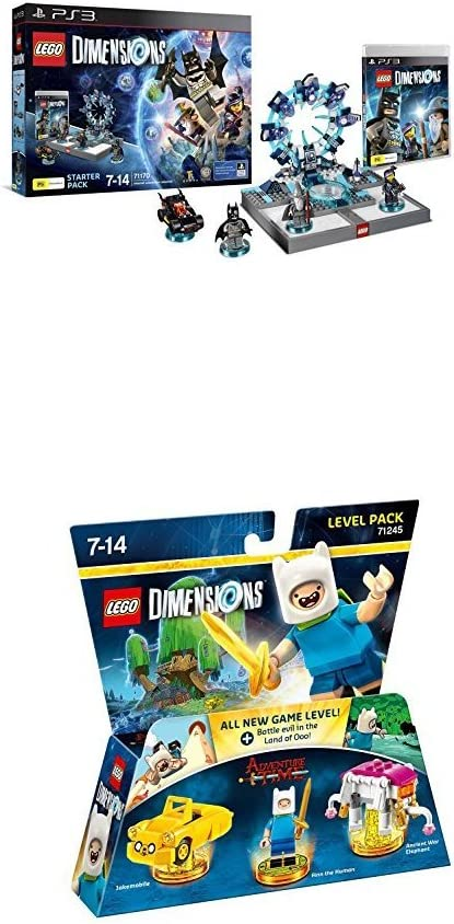 LEGO - Starter Pack Dimensions (PS3) + LEGO Dimensions: Adventure Time: Amazon.es: Videojuegos