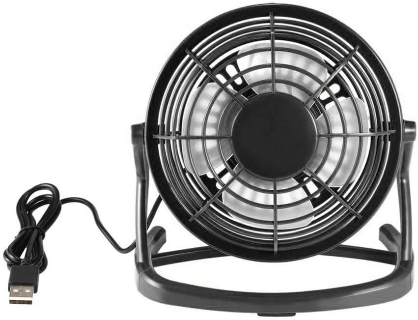Taluoahc Mini Fan Mini Fan Cooler Cooling Mini Desk Fan Portable Desk Mini Fan Super Mute Coolerfor Notebook with Key Switch