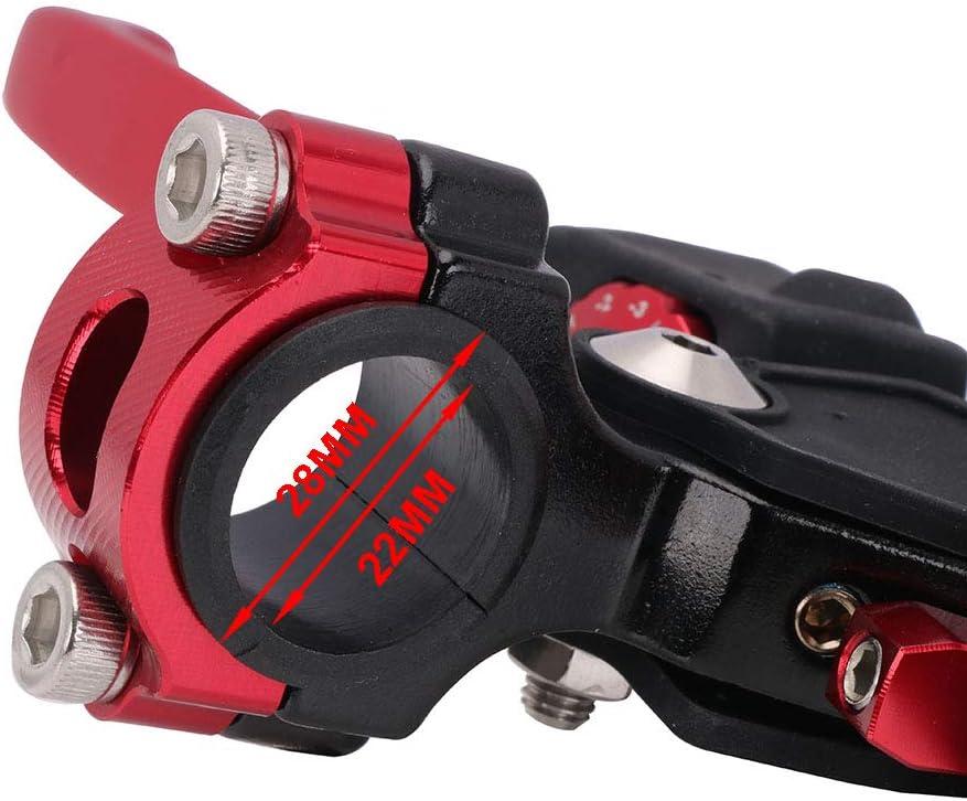 Green Motorcycle 22MM Clutch Lever 4 Directions Foldable Universal For CR125R CR250R CRF250 CRF450 YZ250F YZ450F KX250F KX450F RM125 RMZ250 RMZ450 DRZ400 Dirt Bike