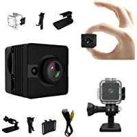 Mini Camera – Bysameyee 1080P HD Hidden Spy Cam Action Camera with Night Vision Motion Detection, Wireless Mini DV DVR for Security/Sport