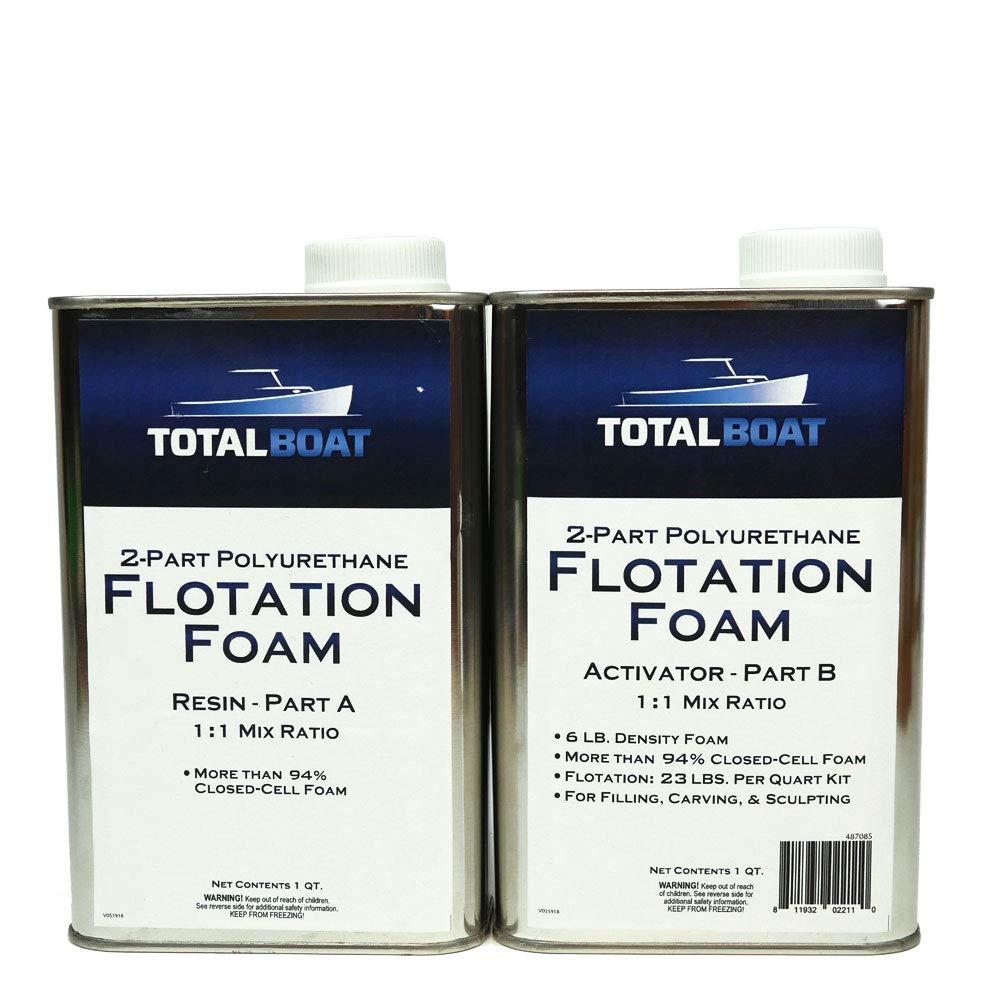 TotalBoat - Kit de espuma líquida de uretano, 2,7 kg, célula cerrada para flotación y refuerzo: Amazon.es: Amazon.es