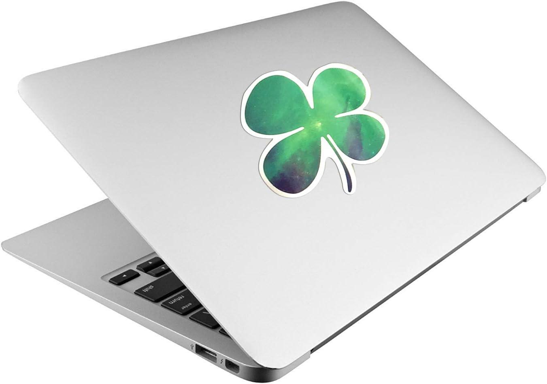 Sticker 4-Leaf Clover Tablet Laptop Fridge Door Room Book Car