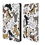 Head Case Designs German Shepherd Dog Breed Patterns Leather Book Wallet Case Cover For Apple iPad mini 4
