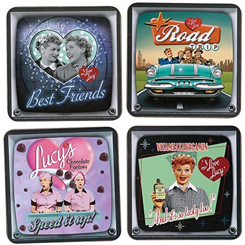 - I Love Lucy Collectible Coaster Set of 4