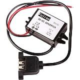 DEOK DC-DC Buck Converter Micro USB per adattatore USB 12V / 24V a 5V step-down il convertitore di potere dell'automobile dell'adattatore 8-50V Voltage Regulator Module alimentatori (Tipo A femmina USB con l'orecchio)