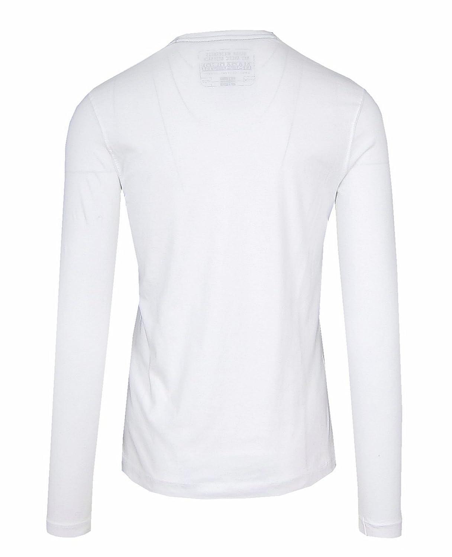 Napapijri SMU Streif Herren Men Langarm T Shirt Longsleeve