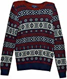 Polo Ralph Lauren Boy's Holiday Sweater Navy X-Large (18-20)