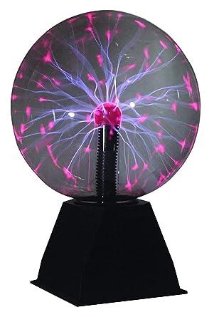 Boule Avec Eclairs Effet Plasma 20cm Amazon Fr Luminaires Et Eclairage
