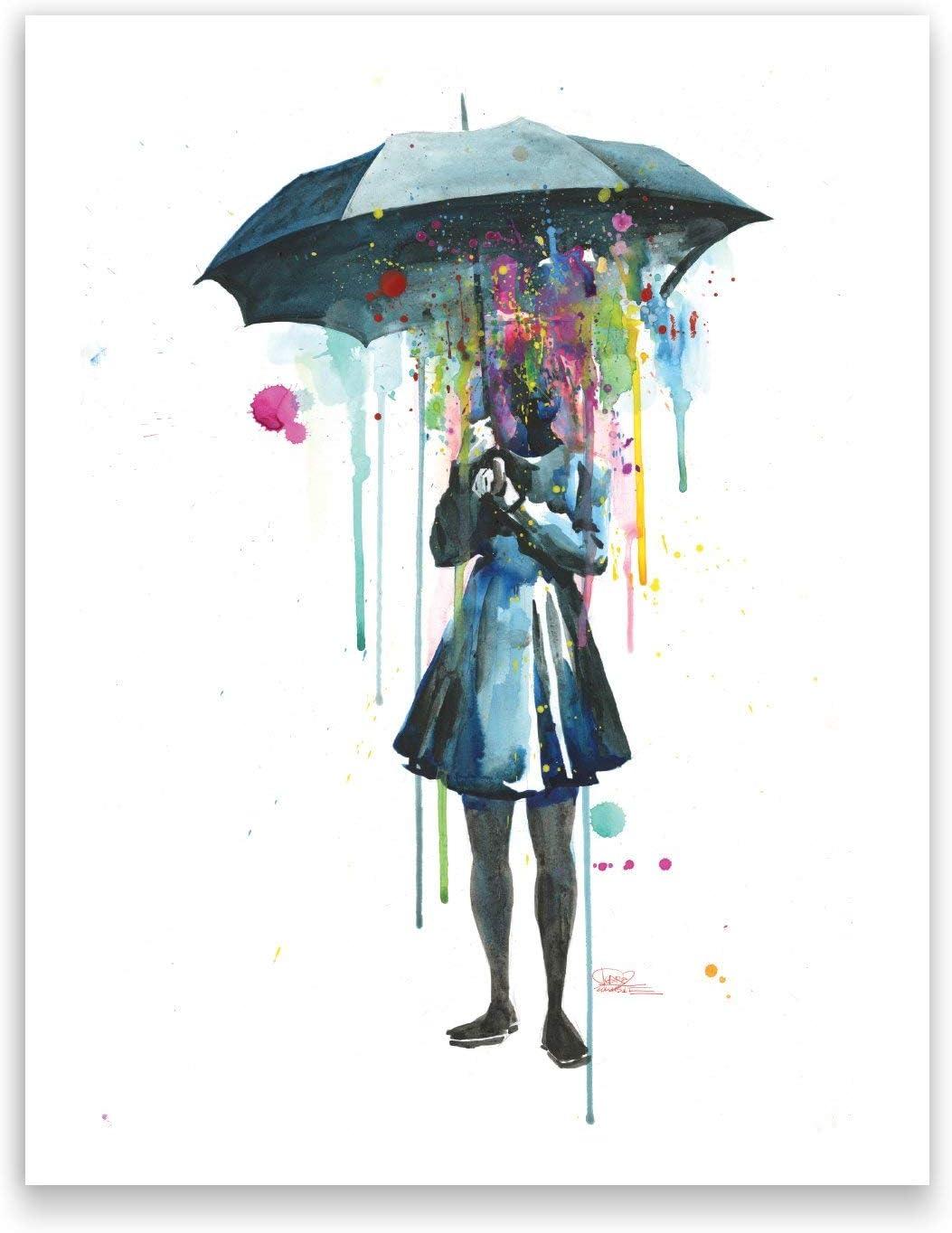 Lora Zombie Studio Art Print - 16