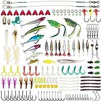 Lanforest Fishing Lures Kit, 234 PCS Artificial Bait...