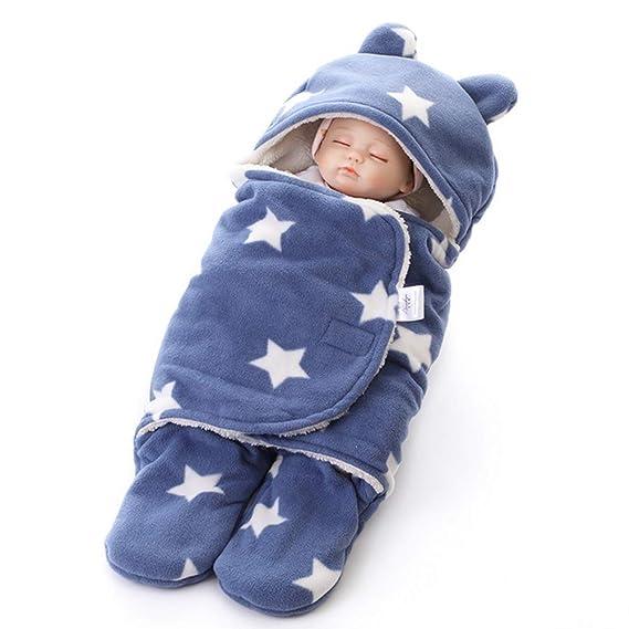 ARAUS Saco De Dormir Para Bebé Piernas Separadas Peleles Manta Arrullo Gruesa Recién Nacido: Amazon.es: Ropa y accesorios