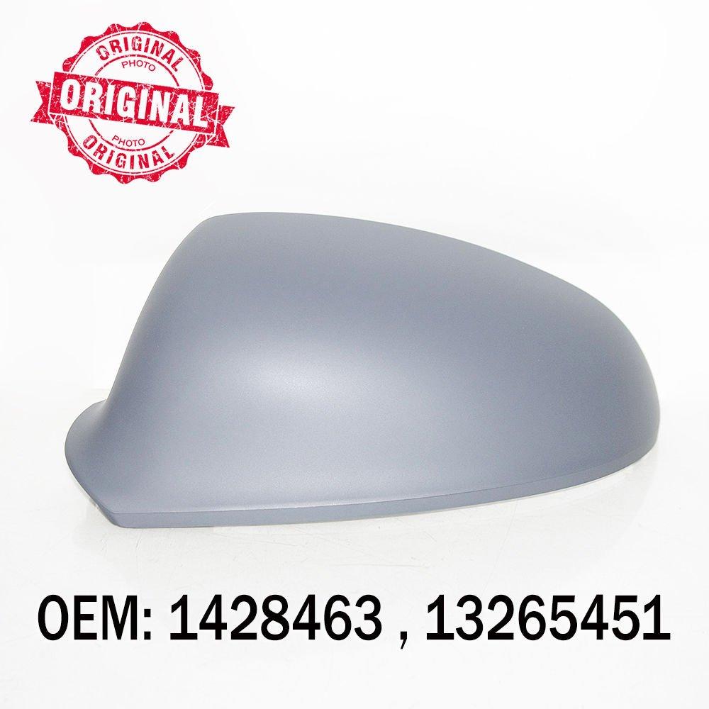 Left Side Wing Mirror Cover Primed For Astra J 2009 Onwards OEM 1428463 13265451
