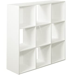 Delicieux 9 Cube Organizer, White