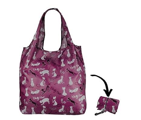 Re-uz Lifestyle bolsa plegable reutilizable compra bolsa de la compra – Hilo para Cat UVA