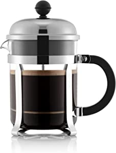 Bodum Chambord French Press Coffee Maker, 17 Ounce, Chrome