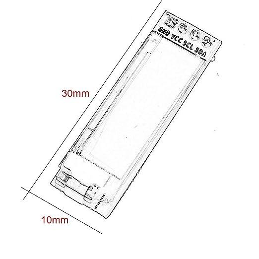 Iic I2c 0 91 128 X 32 White Oled Lcd Display Module 3 3v 5v For
