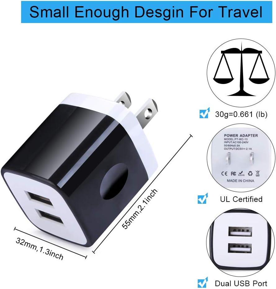Amazon.com: C cargador de coche, C bloque de carga tipo USB ...