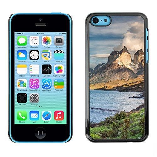 Premio Sottile Slim Cassa Custodia Case Cover Shell // F00005048 Torres del Paine // Apple iPhone 5C