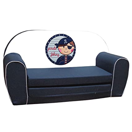 knorr-baby 430202 - Sofá cama infantil, diseño de pirata ...