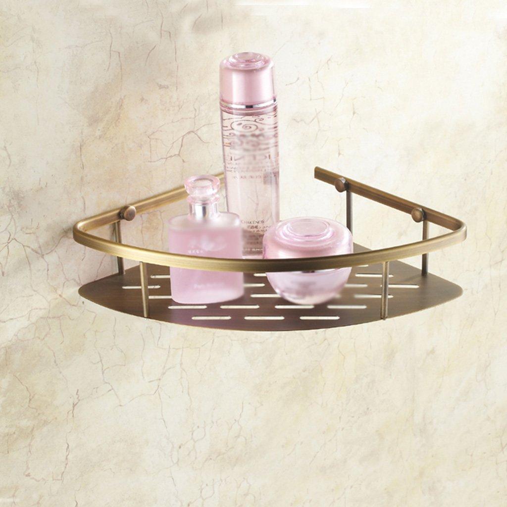 LQQGXL Storage and organization Bronze bathroom single storefront European wall mount vintage tripod (size: 22 cm)