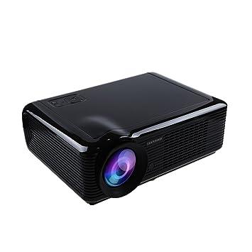 HTP LED-66 HD - Proyector, negro [Importado]: Amazon.es: Electrónica