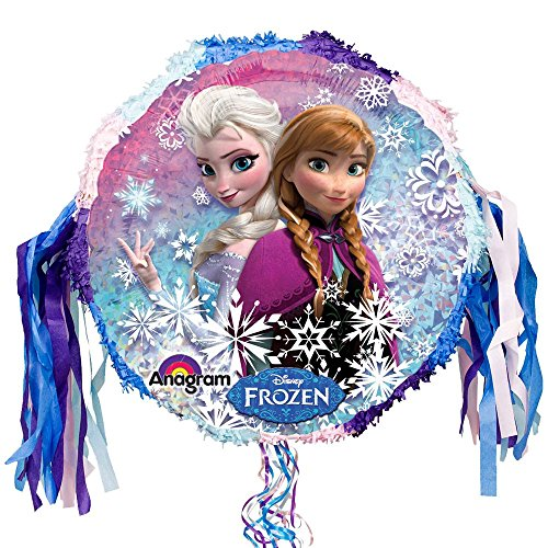 Costume SuperCenter Frozen Pull String Pinata (Each) - Party Supplies