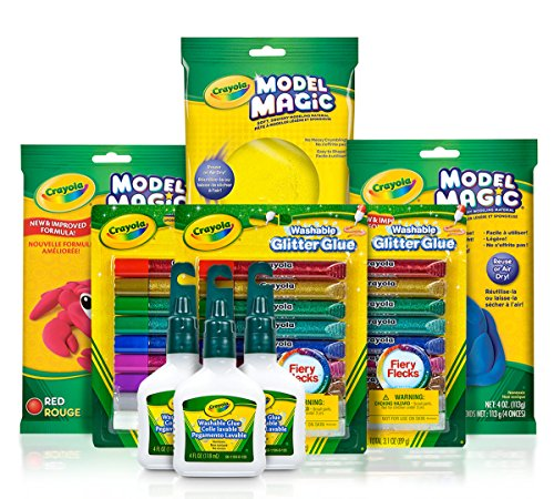 Crayola 2-in-1 Butter & Sparkle Slime Supplies (Crayola Sparkle)