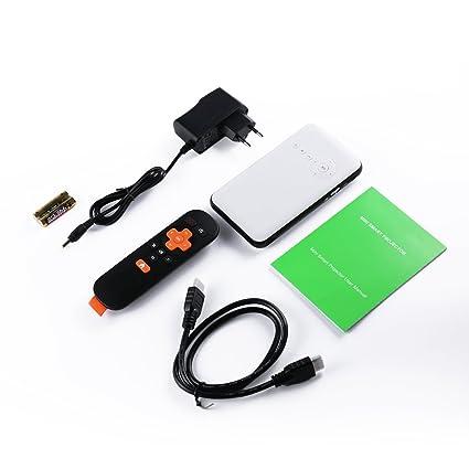 ICOCO Mini Proyector LED Multifuncional Proyector Interfaz de ...