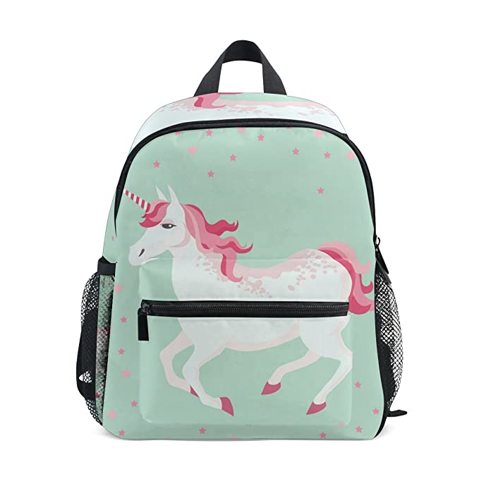 f153bb742086 Image Unavailable. Image not available for. Color  LORVIES Unicorn Mini Kids  Backpack Pre-School Kindergarten ...