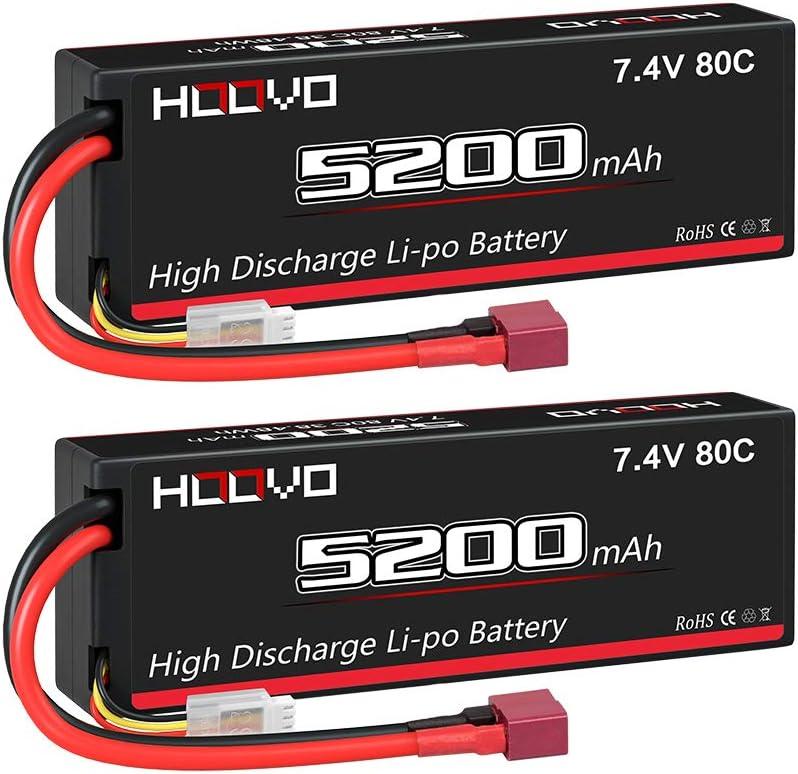 TOOGOO 2 Pi/èCes Lipo Batterie pour JXD 523 523W H43WH RC Quadrirotor Drone 852040 3.7 V 550 MAh Batterie Lipo