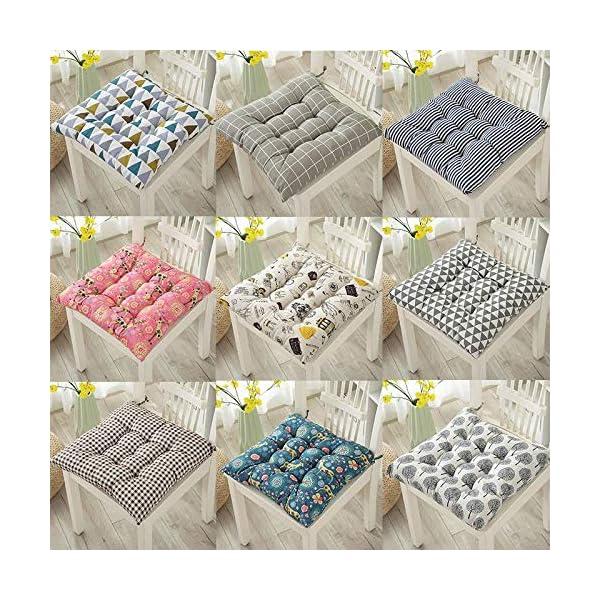 Dylandy - 1 x cuscino per sedia, per esterni, giardino, patio, casa, colore: rosa, 50 x 50 cm 7 spesavip