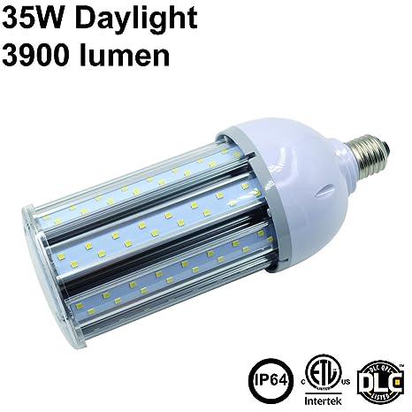 35 W luz blanca cálida LED Maíz Luz Bombilla E26 3900 lm ...